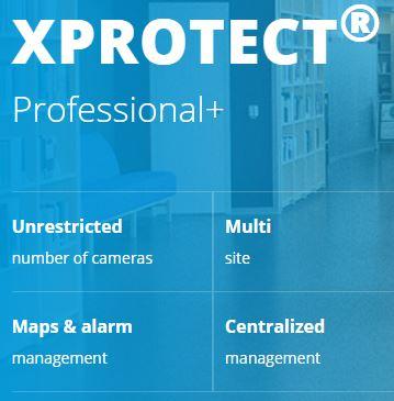 XProtect Professional+ Logo